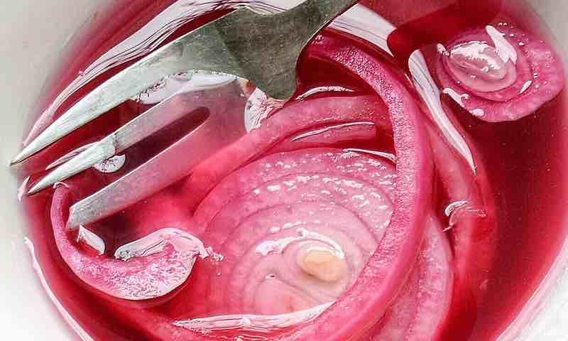 cebolla en escabeche, métodos de conservacion de alimentos esterilizacion
